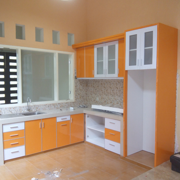 Kitchen Set Perumahan Pondok Nirwana Malang the OWL KitchenCabinets & shelves