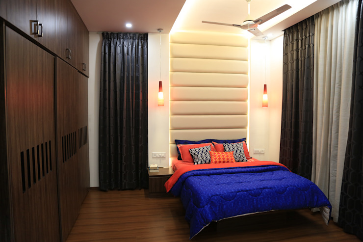 Master Bedroom. Modern style bedroom by homify Modern Plywood