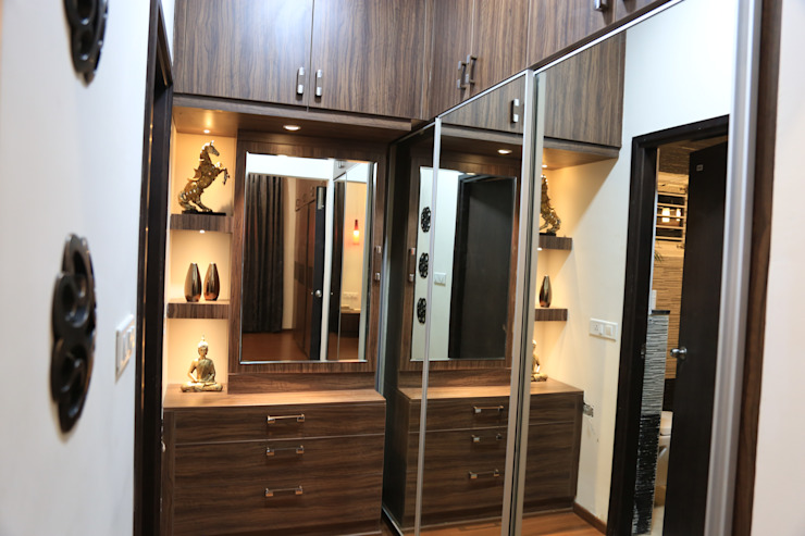Closet Modern dressing room by homify Modern Plywood