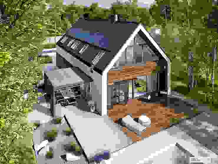 EX 19 G2 ENERGO PLUS - dom, który oddycha światłem Pracownia Projektowa ARCHIPELAG Dom jednorodzinny