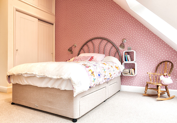 Rose Project Dan Wray Photography BedroomBeds & headboards