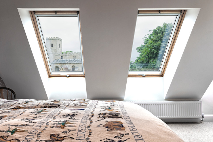Rose Project Dan Wray Photography Dormitorios de estilo moderno