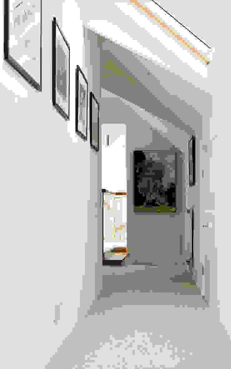 Rose Project Dan Wray Photography Pasillos, vestíbulos y escaleras de estilo moderno