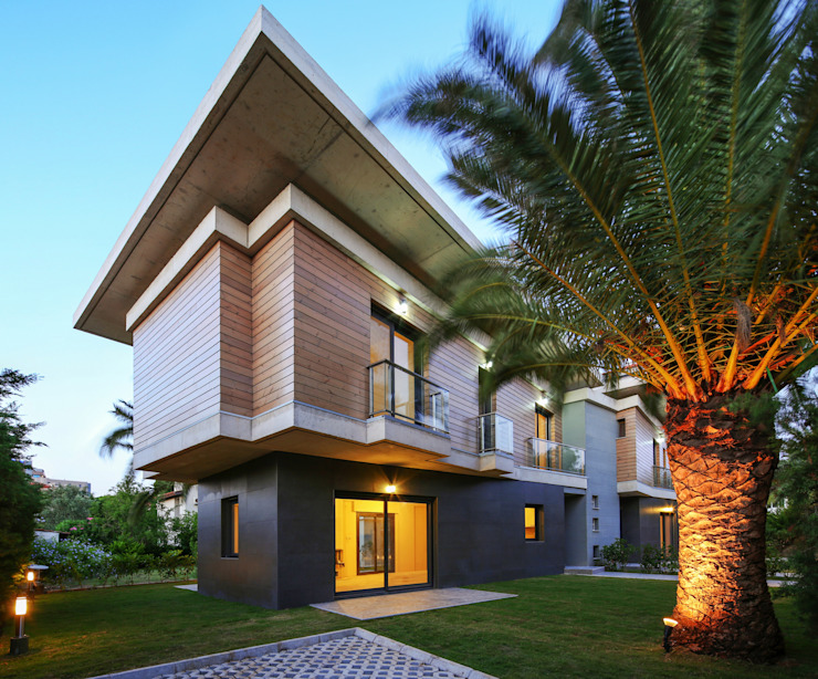 Egeli Proje Passive house Engineered Wood Wood effect