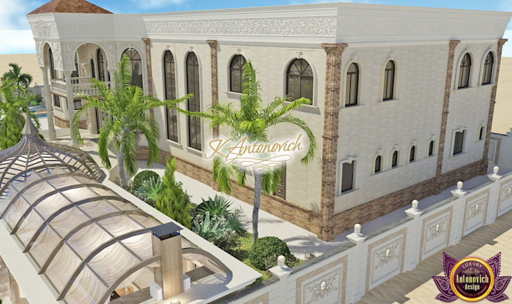 Architectural project of the residence from Katrina Antonovich Classic style houses by Luxury Antonovich Design Classic