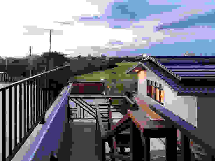 洄 亞洲風玄關、階梯與走廊 根據 夏沐森山設計整合 日式風、東方風