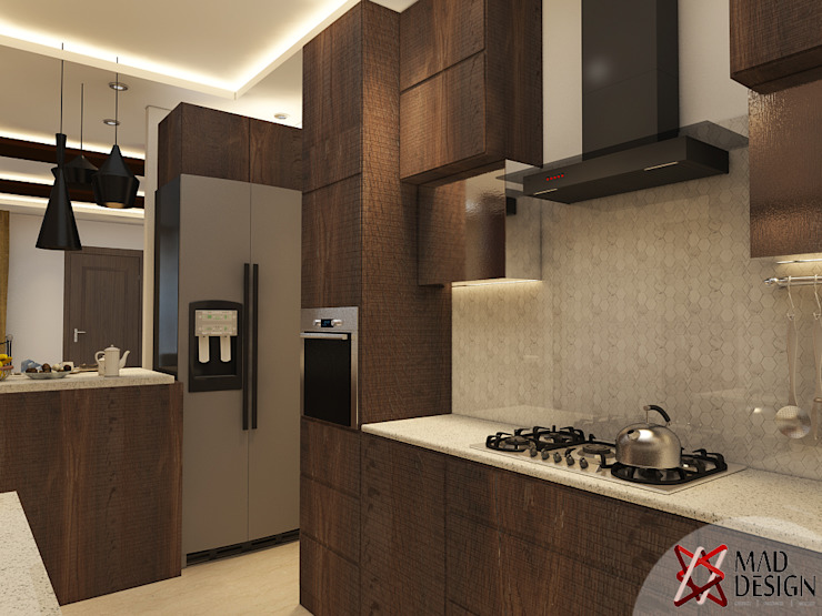KITCHEN - VIEW 1 Modern kitchen by homify Modern
