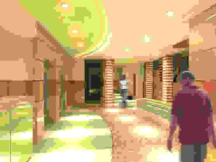لقطة 1 للمدخل من Quattro designs حداثي