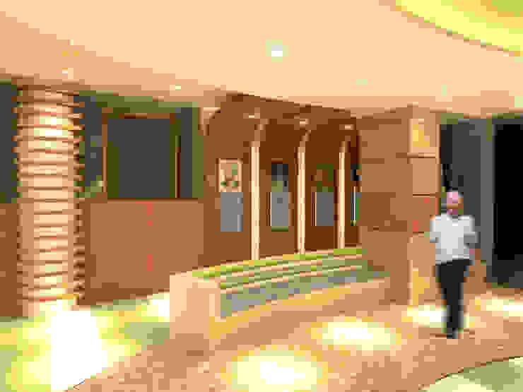 لقطة 4 للمدخل من Quattro designs حداثي