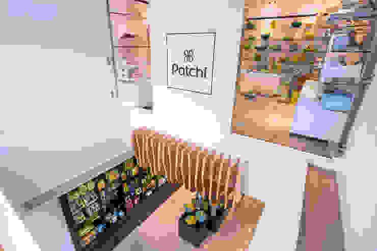 Patchi - Bierut St. Heliopolis by Mazura Modern Solid Wood Multicolored