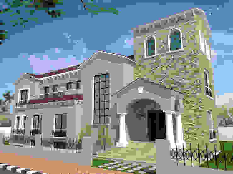 فيلا سكنية في الشروق بالقاهرة من Quattro designs