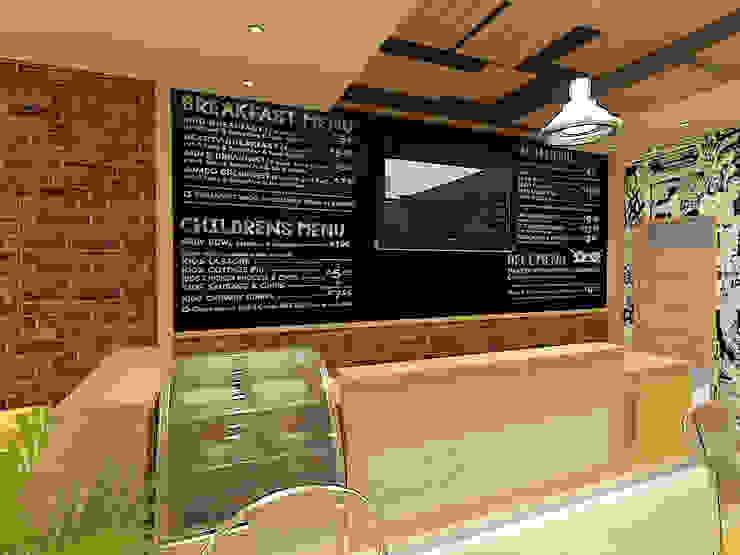 Dolce cafe من Quattro designs حداثي