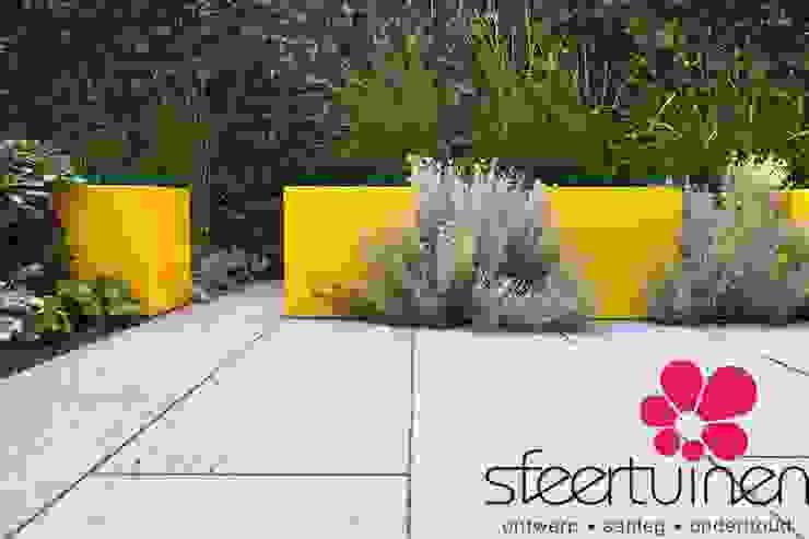 Sfeertuinen 인더스트리얼 정원 콘크리트 황색