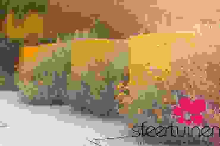Sfeertuinen 인더스트리얼 정원 알루미늄 / 아연 황색