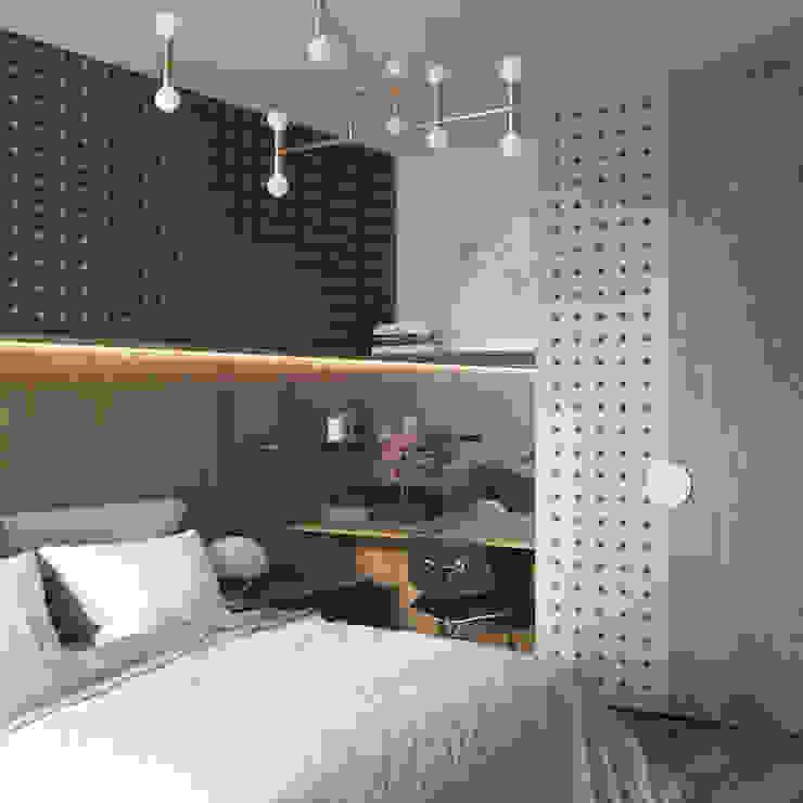 «Alter Ego» Спальня в скандинавском стиле от Wide Design Group Скандинавский