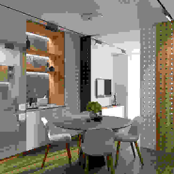 «Alter Ego» Кухня в скандинавском стиле от Wide Design Group Скандинавский