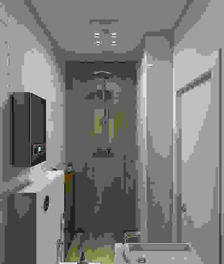 «Alter Ego» Ванная комната в скандинавском стиле от Wide Design Group Скандинавский