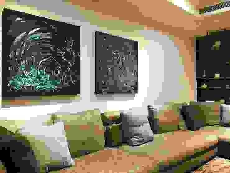 藝術品 现代客厅設計點子、靈感 & 圖片 根據 見和空間設計 現代風