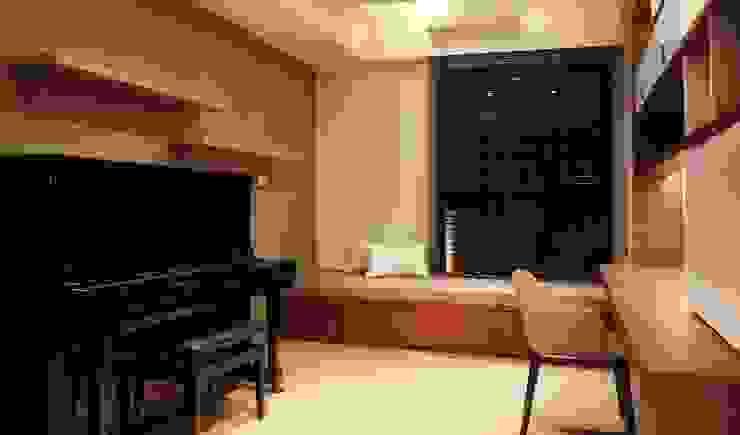 書房 根據 見和空間設計 現代風