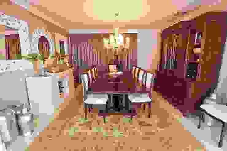 غرفة السفرة تنفيذ Redesign Interiors , كلاسيكي