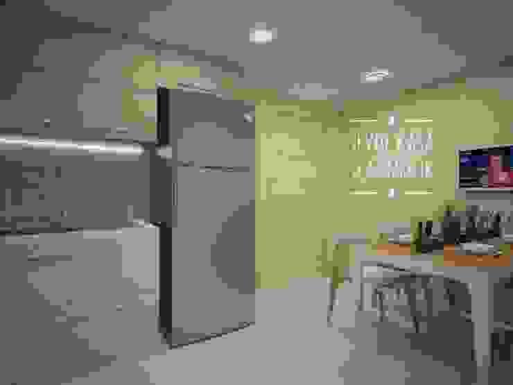 Dobruca Villaları Mutfak SEVDE KASA İÇ MİMARLIK Ankastre mutfaklar