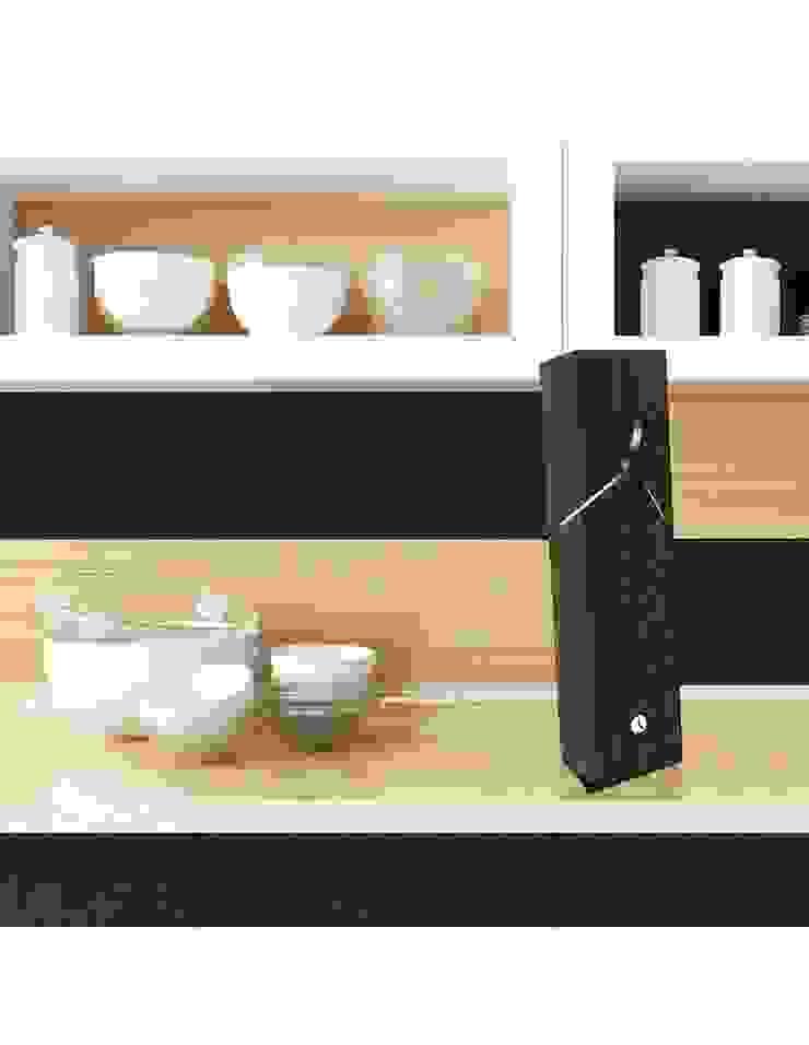Tothora Trim 50 Clock: modern  by Just For Clocks,Modern Wood Wood effect