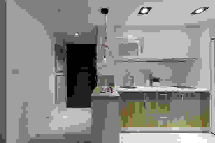 廚房/玄關 斯堪的納維亞風格的走廊,走廊和樓梯 根據 Moooi Design 驀翊設計 北歐風