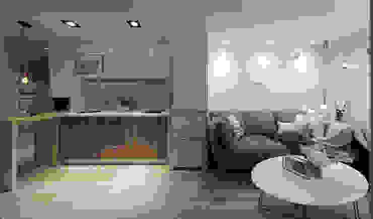 客廳/廚房 根據 Moooi Design 驀翊設計 北歐風