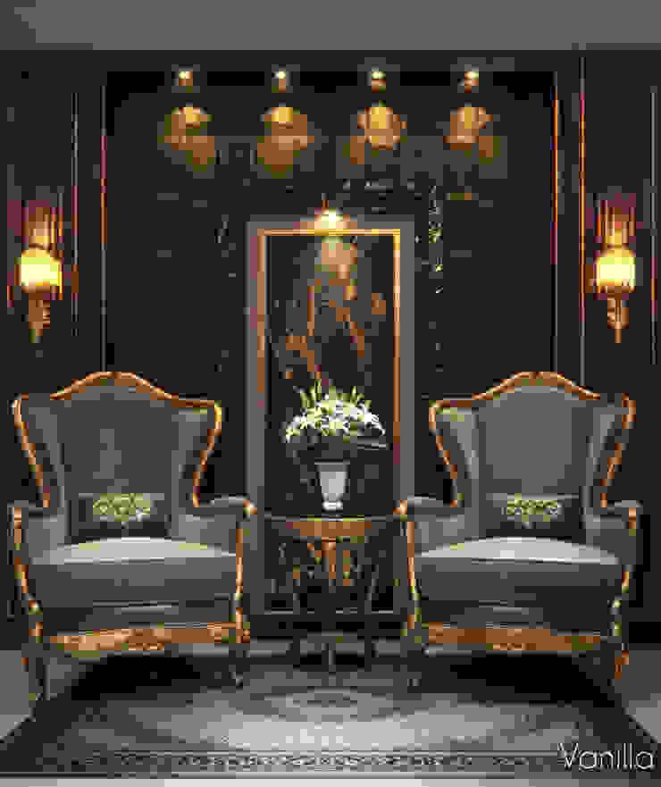 Luxurious Interior New Cairo Vanilla Studio Living room