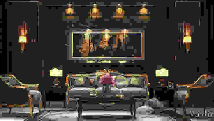 غرفة المعيشة تنفيذ Vanilla Studio, كلاسيكي