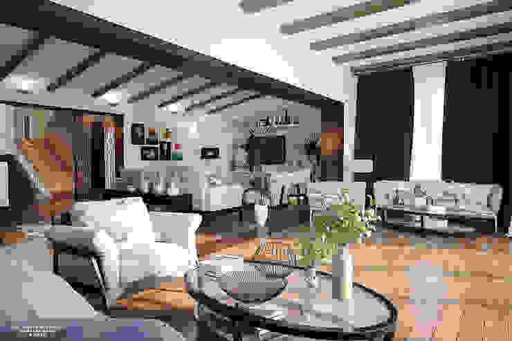 Modern Vintage Villa من Mustafa Adel Architecture Visualization