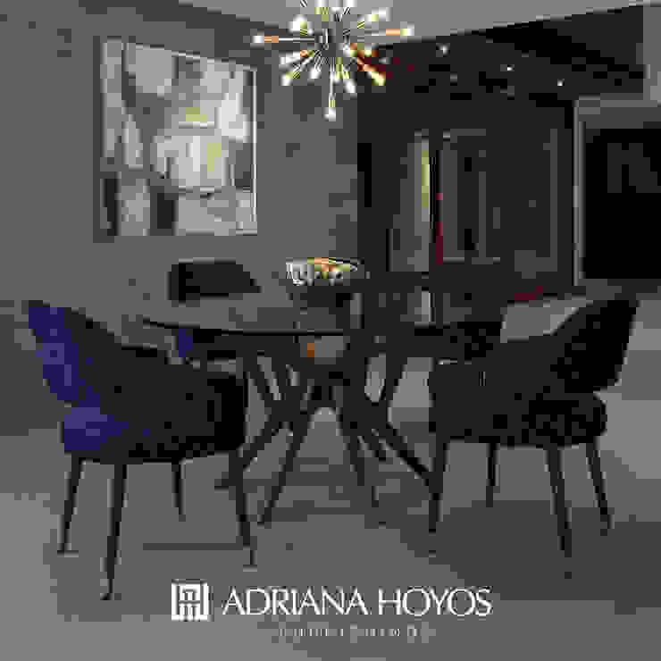 Mesa de Comedor TEN 100 de ADRIANA HOYOS VENEZUELA Ecléctico Vidrio