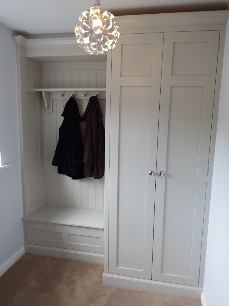 Boot Room Hailsham Willow Tree Interiors Corridor, hallway & stairsStorage