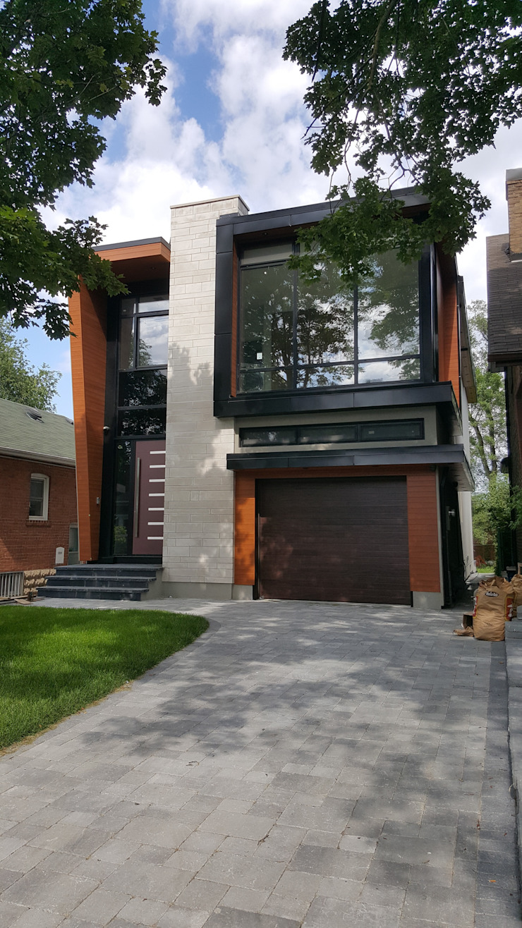 Park Hill Rd Modern houses by Contempo Studio Modern