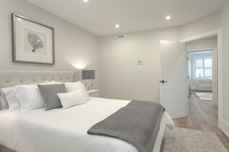 Glen Rd Minimalist bedroom by Contempo Studio Minimalist