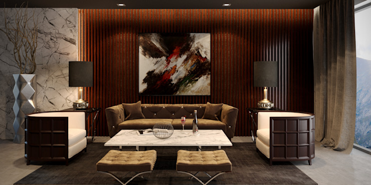 ARMONIA Furniture Collection ( I ) Modern Living Room by MFInteriors Modern