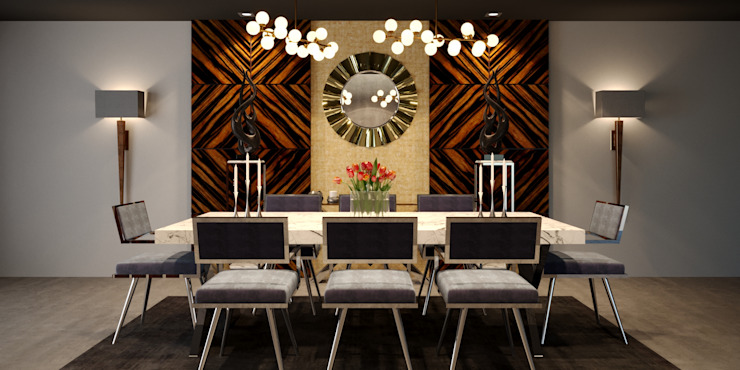ARMONIA Furniture Collection ( I ) Modern Dining Room by MFInteriors Modern