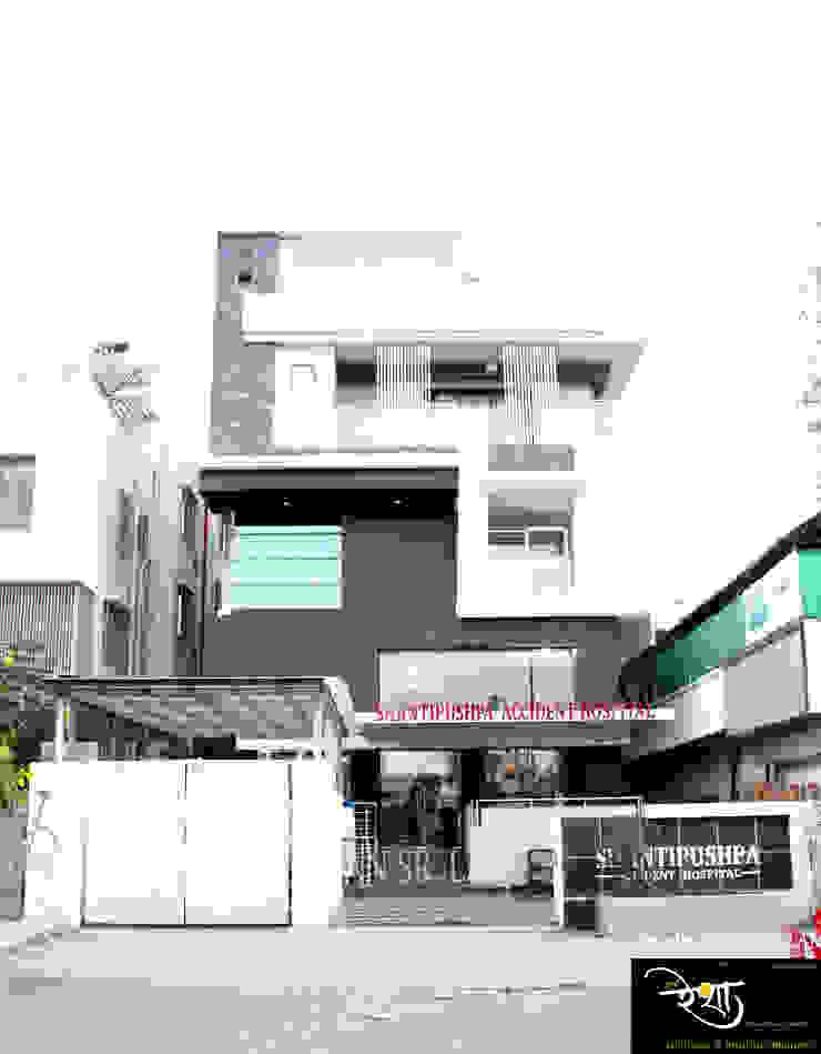Chandaliya residence Modern houses by RESHA Architect Modern