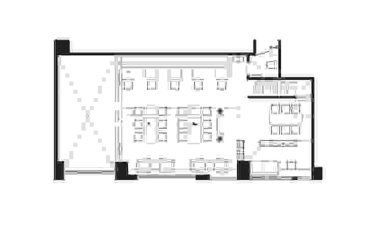 Cafe 2F PLAN: 產業  by 見和空間設計, 工業風