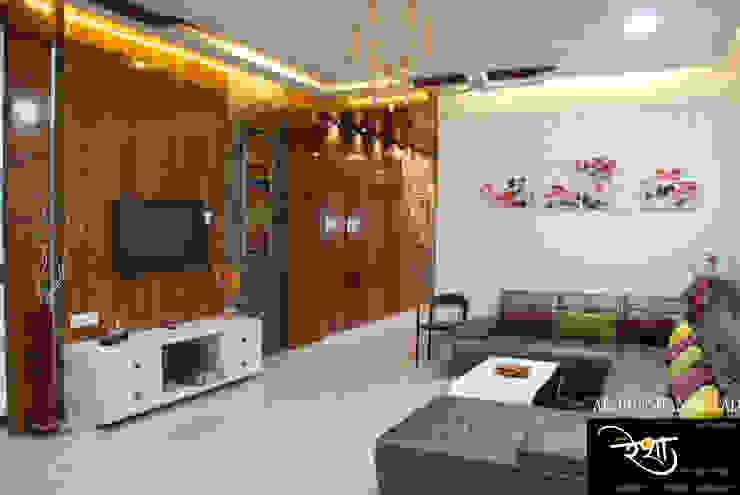 Living room Modern living room by RESHA Architect Modern