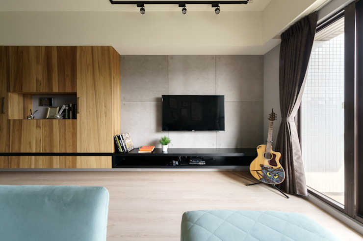Residence   Kaohsiung 博聞 蕭宅 根據 E&K宜客設計 工業風