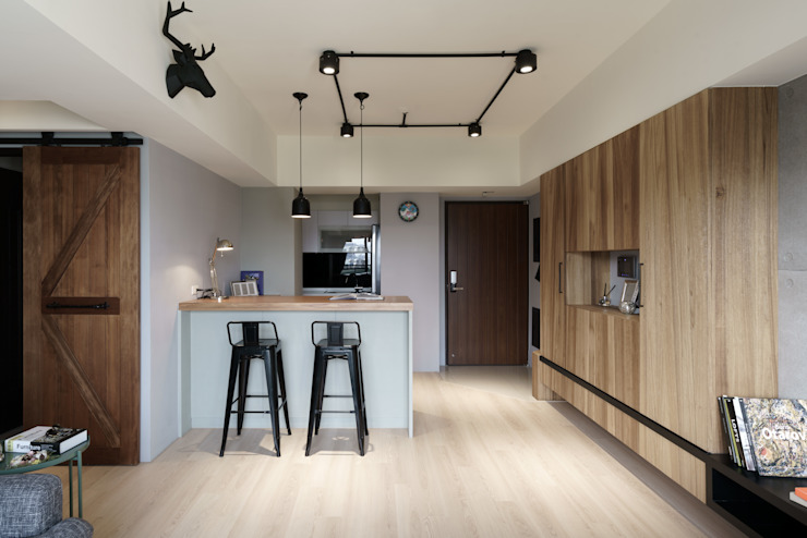 Residence | Kaohsiung 博聞 蕭宅 根據 E&K宜客設計 工業風