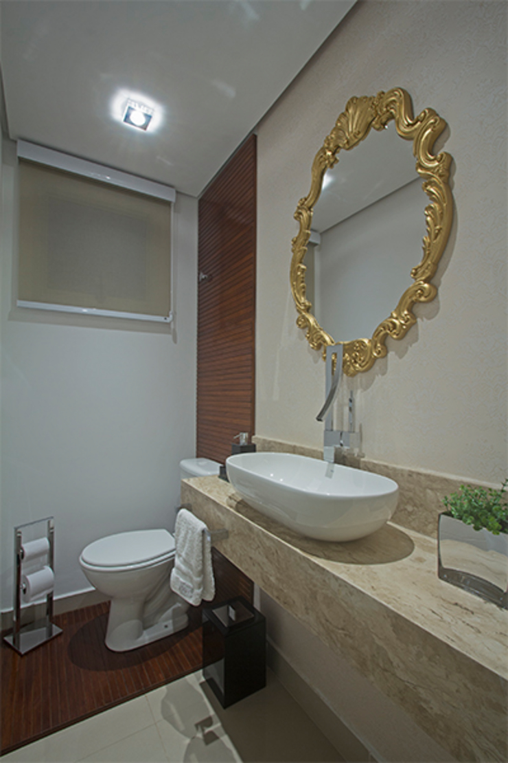 Apartamento Brooklin Banheiros clássicos por Nuovo Design de Interiores Clássico