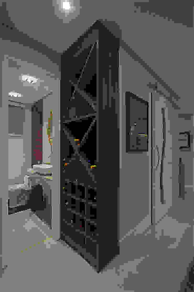 Apartamento Brooklin Adegas modernas por Nuovo Design de Interiores Moderno