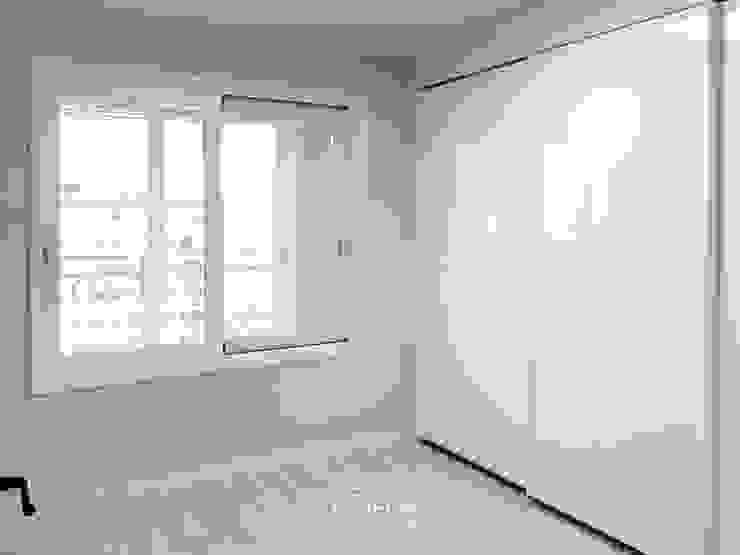 삼산 미래타운 2차 21PT 리모델링 모던스타일 미디어 룸 by 디자인고은 모던