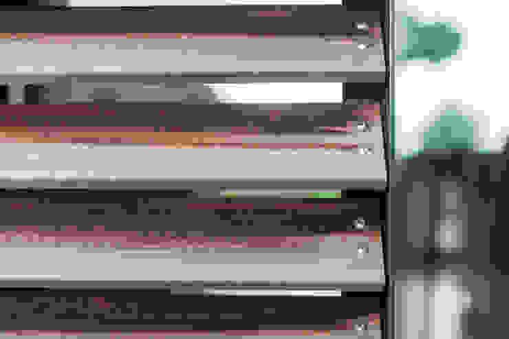 Glazen verbinding met zonwering Landelijke huizen van Bob Romijnders Architectuur + Interieur Landelijk