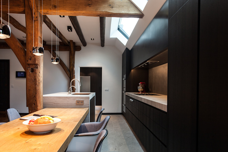 Bob Romijnders Architectuur + Interieur 現代廚房設計點子、靈感&圖片