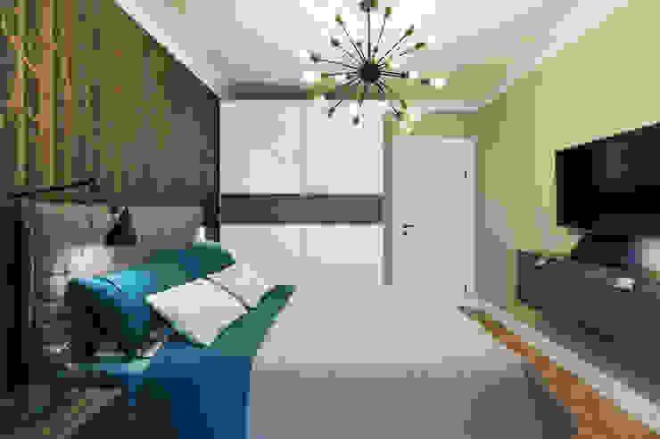 Scandinavian style bedroom by Дизайн Студия 33 Scandinavian