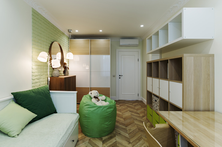 Дизайн Студия 33 嬰兒房/兒童房