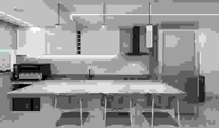 de RAFE Arquitetura e Design Minimalista Azulejos